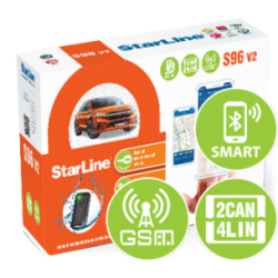 StarLine S96 V2 BT 2CAN+4LIN GSM
