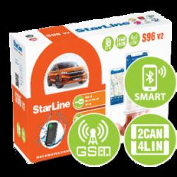 Охранные комплексы STARLINE S96 V2