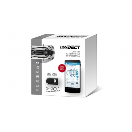 Охранно-противоугонная микросистема Pandect X-1900